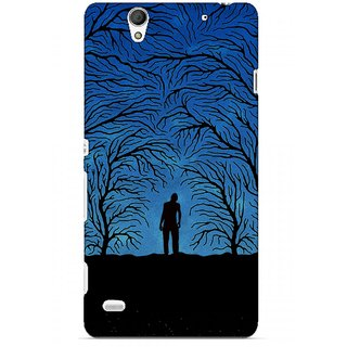 G.store Printed Back Covers for Sony Xperia C4 Blue 45619