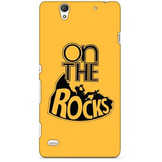 G.store Printed Back Covers for Sony Xperia C4 Yellow 45620
