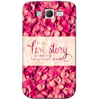 G.store Printed Back Covers for Samsung Galaxy Grand Neo Plus Red 41218