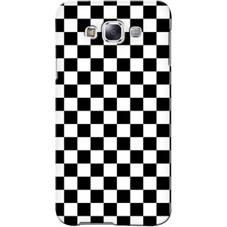 G.store Printed Back Covers for Samsung Galaxy A5  Black 41439