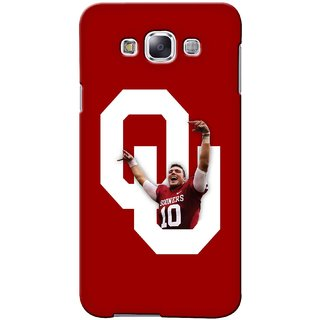 G.store Printed Back Covers for Samsung Galaxy A5  Red 41440
