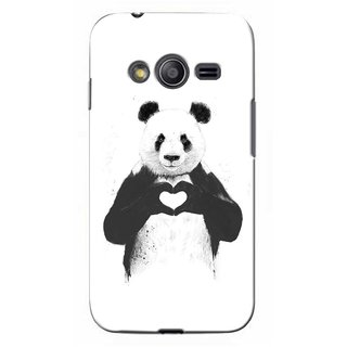 G.store Printed Back Covers for Samsung Galaxy Ace 4 White 41895