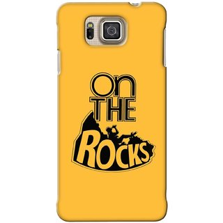 G.store Printed Back Covers for Samsung Galaxy Alpha Yellow 41920