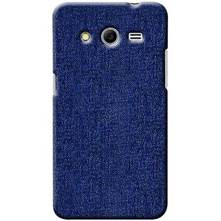 G.store Printed Back Covers for Samsung Galaxy Core 2 blue 42078