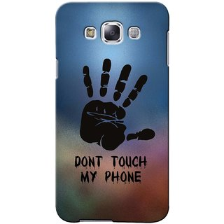 G.store Printed Back Covers for Samsung Galaxy E5 Multi 42348