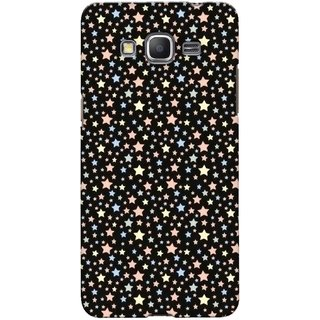 G.store Printed Back Covers for Samsung Galaxy Grand Prime Black 42771