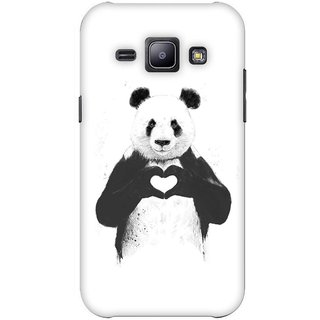 G.store Printed Back Covers for Samsung Galaxy J1 White 42995