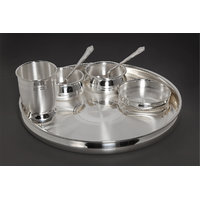 100% Pure Silver Dinner Set