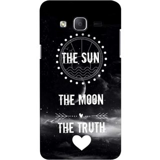 G.store Printed Back Covers for Samsung Galaxy J3 Black 43177