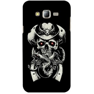 G.store Printed Back Covers for Samsung Galaxy J7 Black 43396