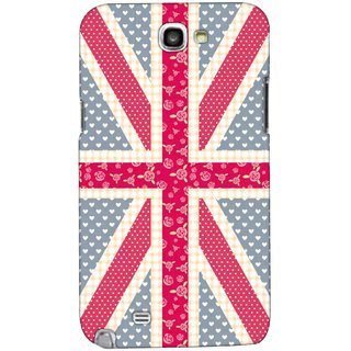 G.store Printed Back Covers for Samsung Galaxy Note 2 Multi 43615