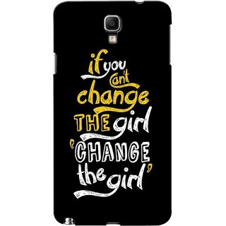 G.store Printed Back Covers for Samsung Galaxy Note 3 Neo Black 43803