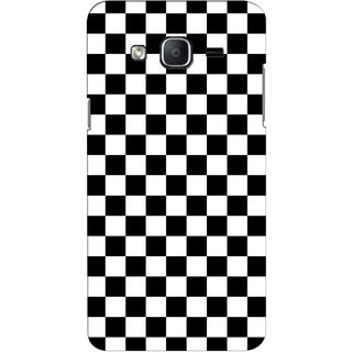 G.store Printed Back Covers for Samsung Galaxy On5 Black 44239