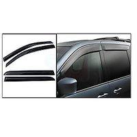 Hi Art - Car Rain Wind Door Visor for Ford Figo - Set of 4