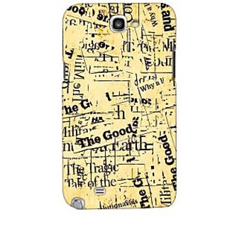G.store Printed Back Covers for Samsung Galaxy Note 2 Multi 43679