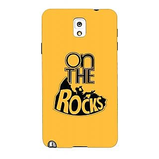 G.store Printed Back Covers for Samsung Galaxy Note 3 Yellow 43720