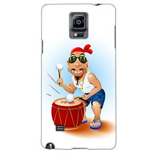 G.store Printed Back Covers for Samsung Galaxy Note 4 Black 43930