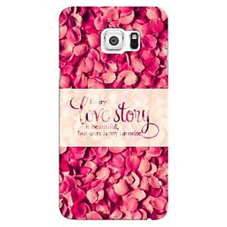 G.store Printed Back Covers for Samsung Galaxy Note 5 Edge  Red 44118