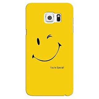 G.store Printed Back Covers for Samsung Galaxy Note 5 Edge  Yellow 44147