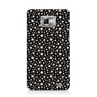 G.store Printed Back Covers for Samsung Galaxy S2 Black 44571