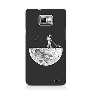 G.store Printed Back Covers for Samsung Galaxy S2 Grey 44576
