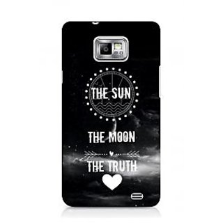G.store Printed Back Covers for Samsung Galaxy S2 Black 44577