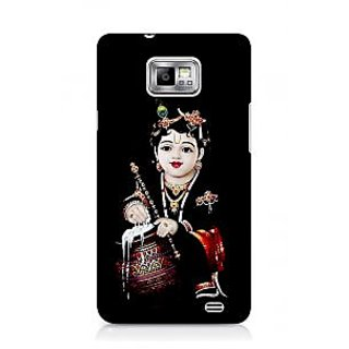 G.store Printed Back Covers for Samsung Galaxy S2 Black 44581