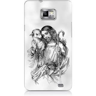 G.store Printed Back Covers for Samsung Galaxy S2 White 44600