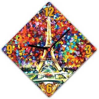 Lovely Collection Multicolor Clock (DC104)