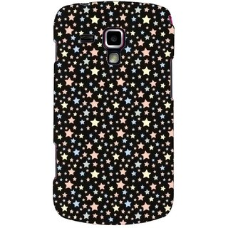 G.store Printed Back Covers for Samsung Galaxy S Duos S7562 Black 44471