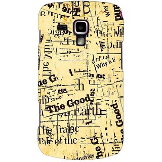 G.store Printed Back Covers for Samsung Galaxy S Duos S7562 Multi 44479
