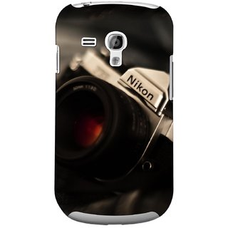 G.store Printed Back Covers for Samsung Galaxy S3 Mini Black 44709