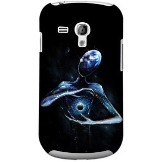 G.store Printed Back Covers for Samsung Galaxy S3 Mini Black 44713