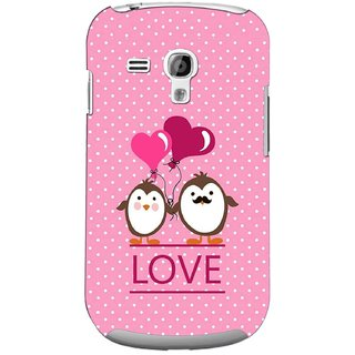 G.store Printed Back Covers for Samsung Galaxy S3 Mini Pink 44714