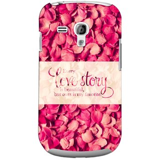 G.store Printed Back Covers for Samsung Galaxy S3 Mini Red 44718