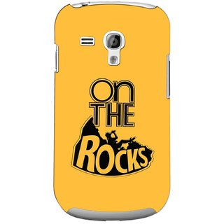 G.store Printed Back Covers for Samsung Galaxy S3 Mini Yellow 44720