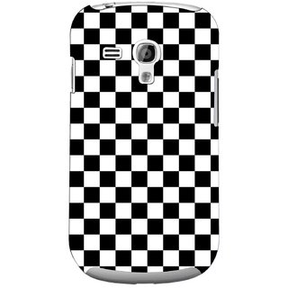 G.store Printed Back Covers for Samsung Galaxy S3 Mini Black 44739