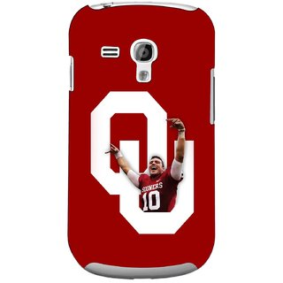 G.store Printed Back Covers for Samsung Galaxy S3 Mini Red 44740