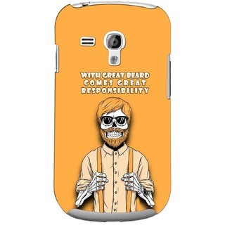 G.store Printed Back Covers for Samsung Galaxy S3 Mini Yellow 44750