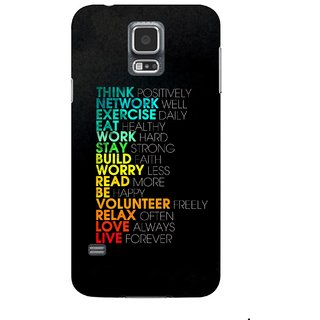 G.store Printed Back Covers for Samsung Galaxy S5 Multi 45042