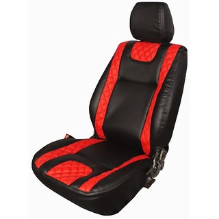 Honda Brio black  Leatherite Car Seat Cover