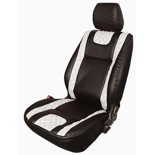 Honda Amaze black Leatherite Car Seat Cover