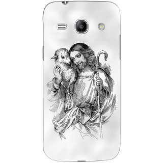 G.store Printed Back Covers for Samsung Galaxy Star Advance G350E White 45400