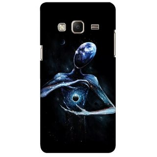 G.store Printed Back Covers for Samsung Z3 Black 45413