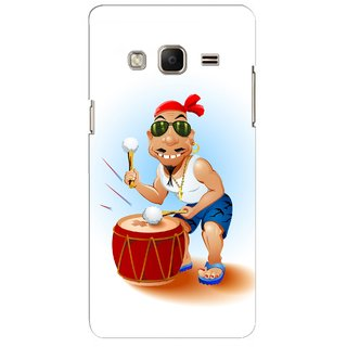 G.store Printed Back Covers for Samsung Z3 Black 45430