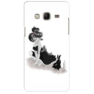 G.store Printed Back Covers for Samsung Z3 White 45445
