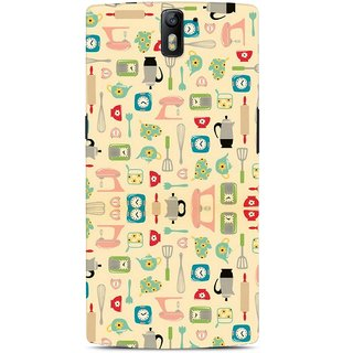 G.store Hard Back Case Cover For OnePlus One  61713