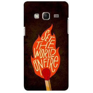 G.store Printed Back Covers for Samsung Z3 Multi 45465