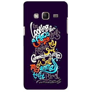 G.store Printed Back Covers for Samsung Z3 Multi 45468