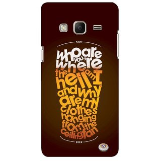 G.store Printed Back Covers for Samsung Z3 Multi 45469